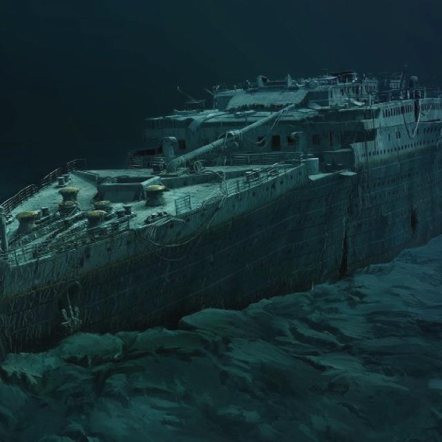 Titanic People Frozen In The Water | www.pixshark.com ...