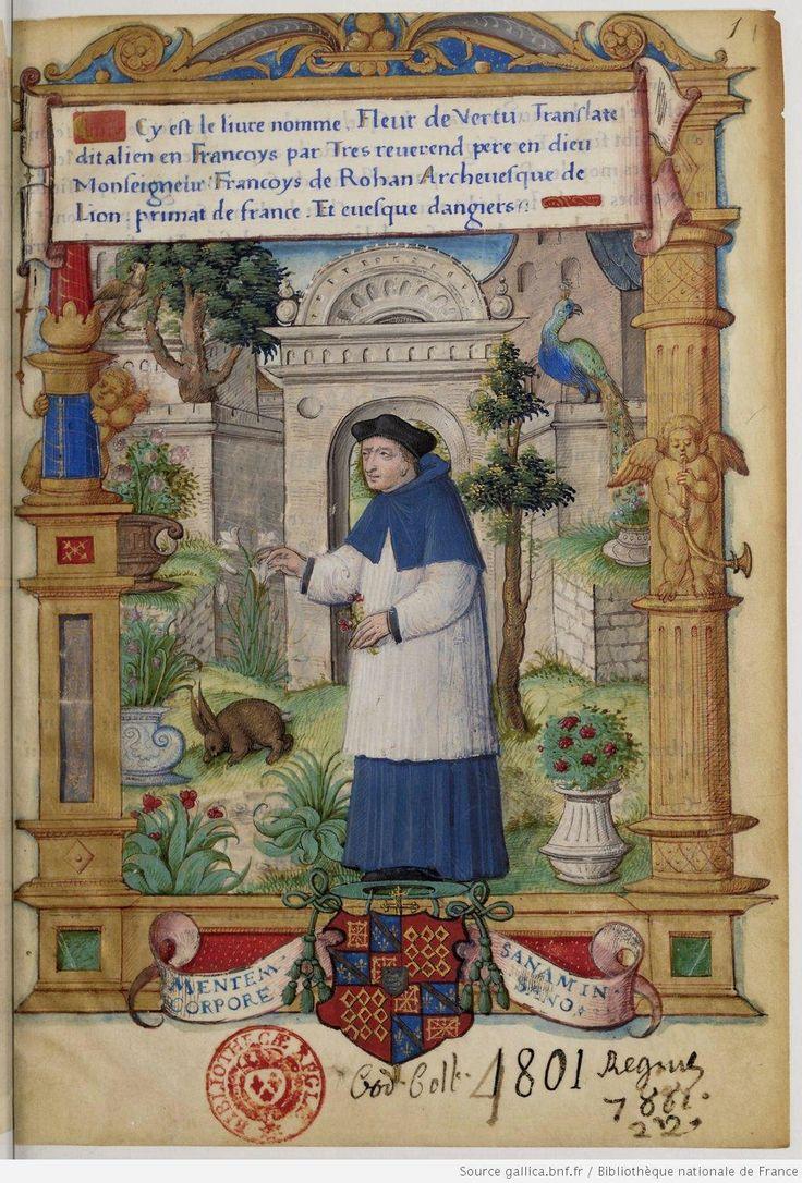 Le Livre nommé Fleur de vertu (BNF)