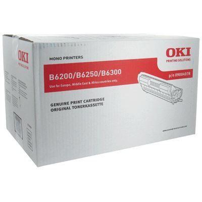 OKI Cartouche de toner – Noir – Capacité standard 10.000 pages – Pour B6200, B6250, B6300