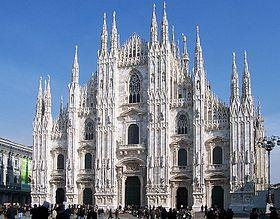 Миланский собор  итал.Duomo di Milano  Италия Милан,  базилика, готика  1386—1965годы
