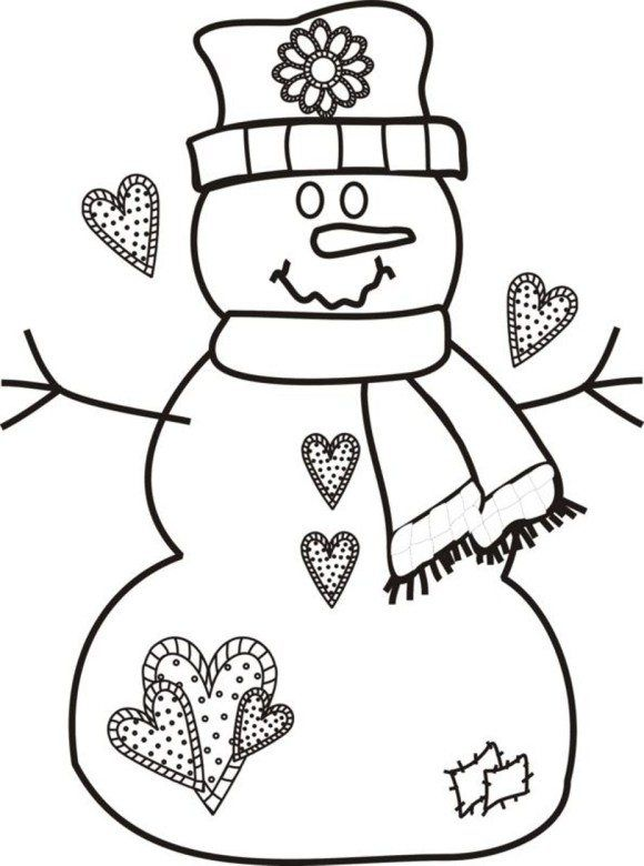 Rozhdestvenskaya Raskraska Besplatnye Rozhdestvenskie Raskraski Snegovik Printable Christmas Coloring Pages Snowman Coloring Pages Free Christmas Coloring Pages