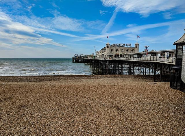 These last few days we've been spoilt with the weather in Brighton.   Little tip: If you want photos of iconic locations in Brighton go there early...until 9.30am it's pretty quite and you'll have less people to try and avoid.   #brightonalife