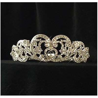 Princess Diana's wedding tiara.                                                                                                                                                      More