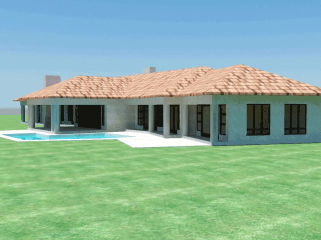 121 best houses images on pinterest home layouts house for Double storey house plans in south africa