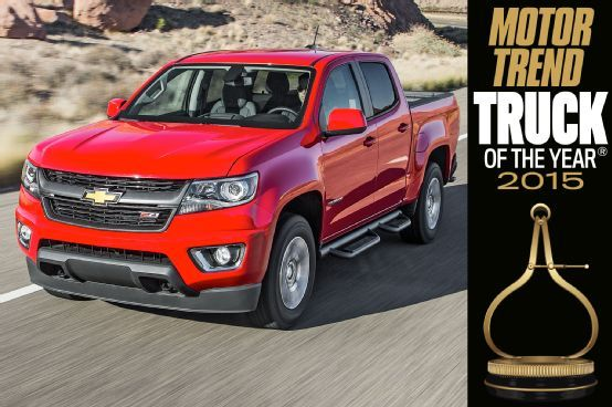 Motor Trend Magazine just named the all new Chevrolet Colorado as it's 2015 Truck of the Year! Head on over to the Fold-a-Cover Factory Store website to place an order for a G4 Elite and Personal Caddy for the Colorado today!