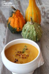 La ricetta della zuppa alla zucca. #ricette #zucca #cucinare