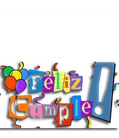 348 best cumplea os images on pinterest happy b day - Feliz cumpleanos letras ...