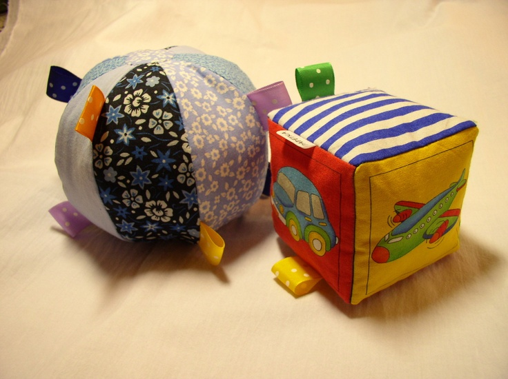 Small balloon, cube