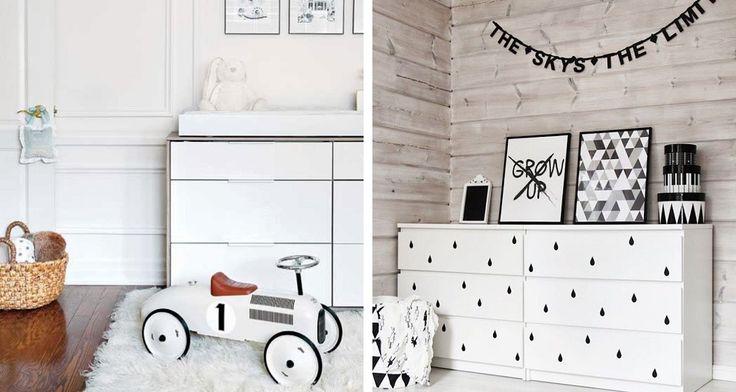 Białe meble do pokoju dziecięcego