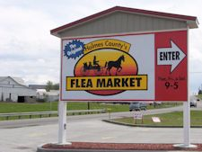 Holmes County's Flea Market, Berlin, OH   A massive place... amazing finds.