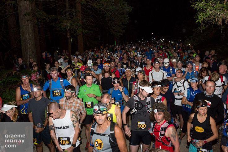 Tarawera Ultra Marathon Start 2013