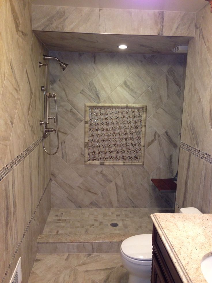 Photo courtesy of richmond tile for How to put down tile in bathroom