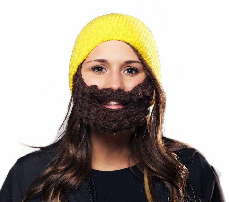 Beardo Beanie, skäggmössa i flera flippiga färger!