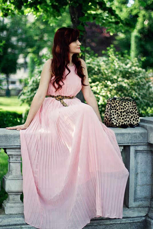 Perfect for summer! #pink #maxidress