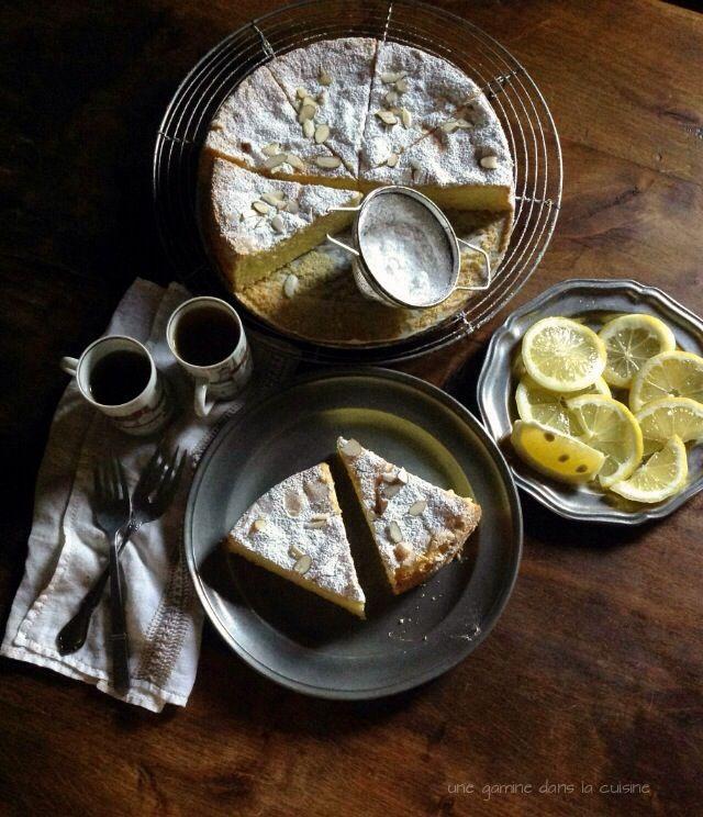 Lemon Lavender Olive Oil Cake   une gamine dans la cuisine