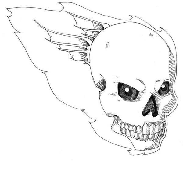 ausmalbilder drucken totenkopf  aiquruguay