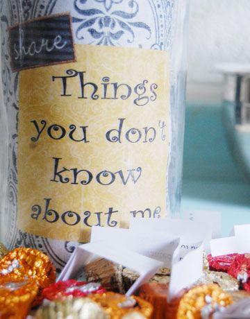 Valentine Gift Ideas for Boyfriend - Get to Know You Jar - Click Pic for 40 DIY Valentine Gift Ideas for Husband