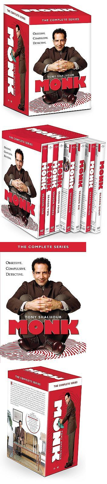 cds dvds vhs: Monk The Complete Dvd Series Collection Seasons 1-8 (32 Disc Set) -> BUY IT NOW ONLY: $51.95 on eBay!