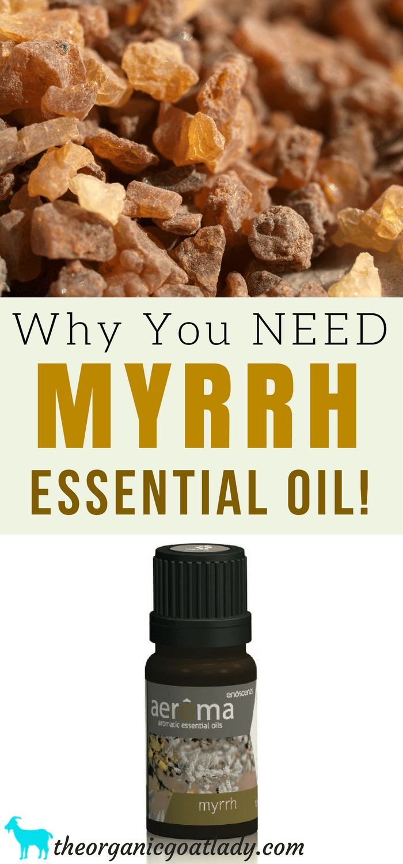 Aromatherapy Recipes! Why You NEED Myrrh Essential Oil!