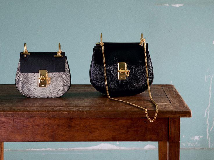 The Chlo¨¦ Fall 2015 accessories collection \u2013 Drew mini bag in ...
