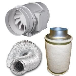 budget 6 inch fan fresh filter and duct combo 6 inch fan fresh filter and duct combo1 x air filter kills smells fast 1 x 6u0027 tt extractor fan