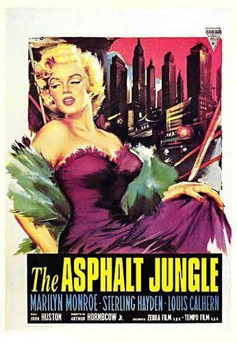 Marilyn Monroe movie poster