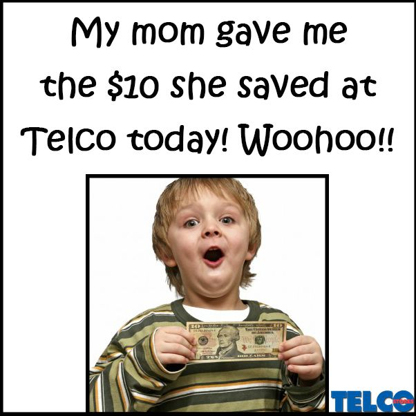Such a cutie pie! Shop for less at Telco!