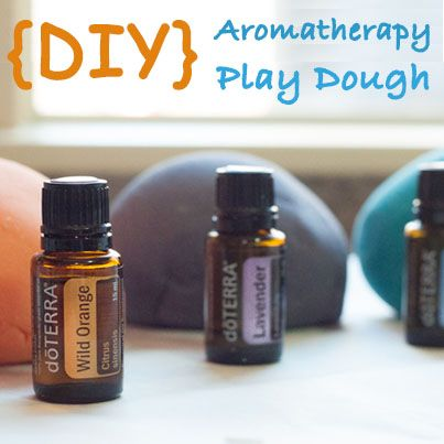 Entertain your kids while calming them down, without them ever even knowing. Make Lavender play dough! Really you can use any kid friendly oil you want...Wild Orange or Peppermint work just as well.