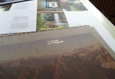 Die Kunst der Vielgestalt #nala #book #layout #art
