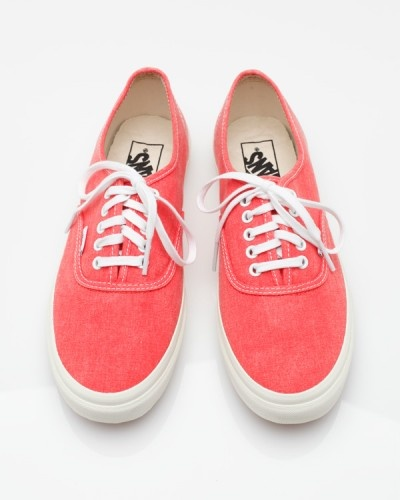 // Vans Authentic Slim Hot Coral