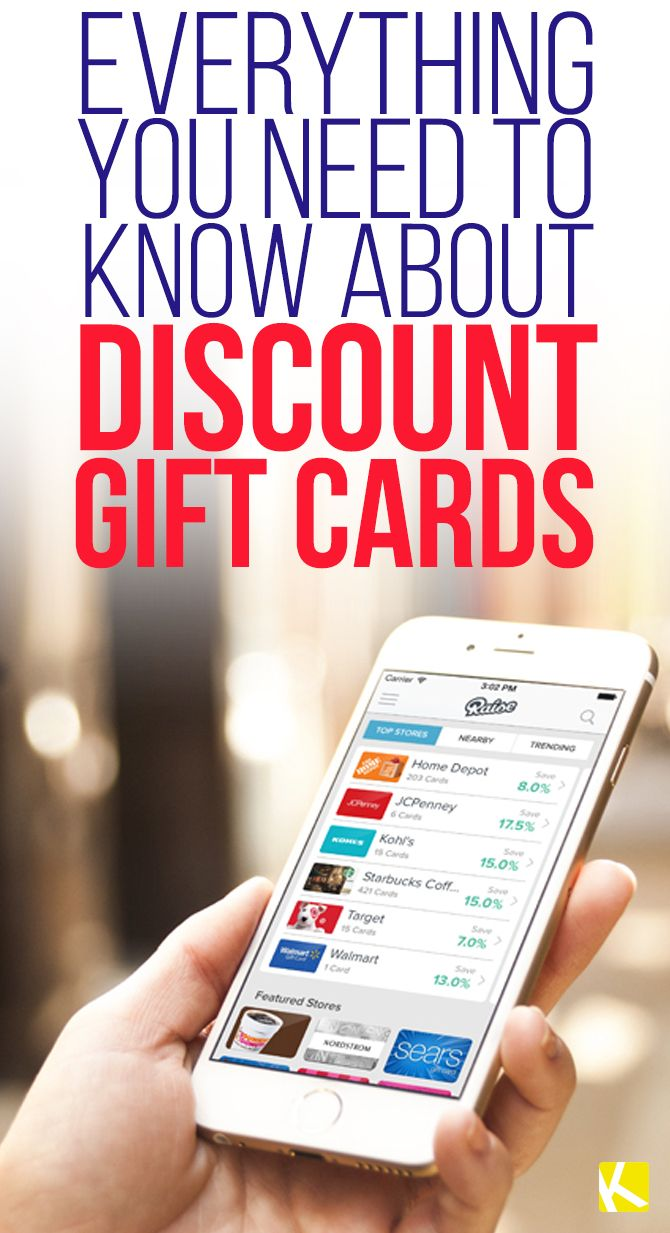 How to Save Hundreds with Discounted Gift Cards