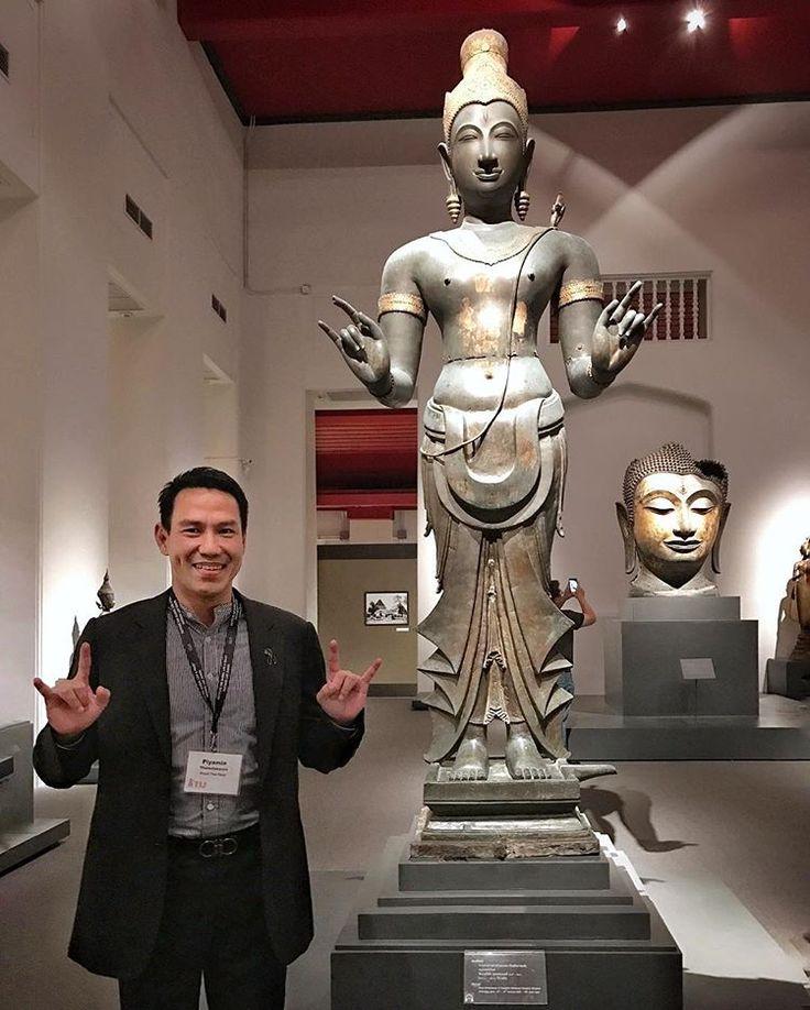 Cultural outing with TIJ fellows. #cutural #museum #nationalmuseumbangkok #bangkok #thailand #thaiguy