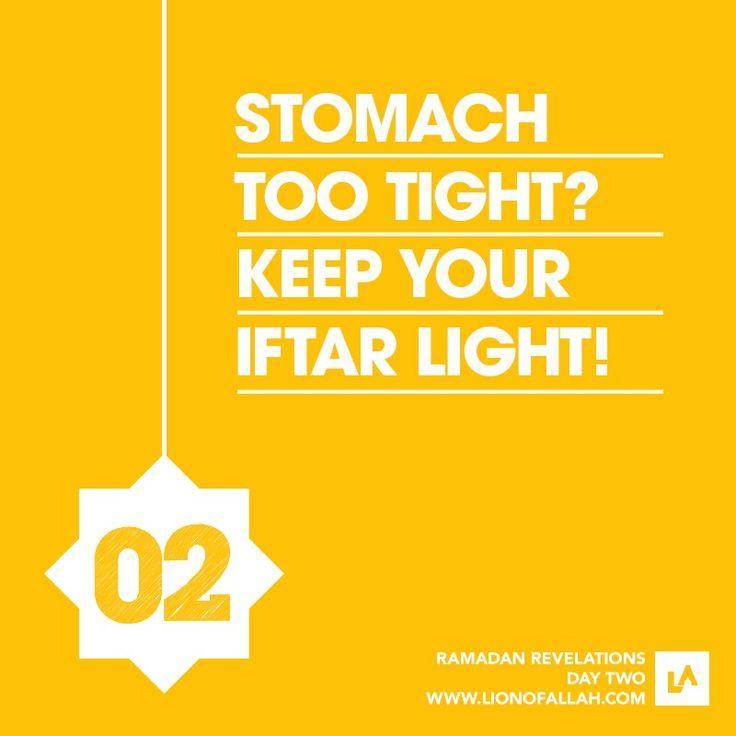 Day 2 Ramadhan reminder