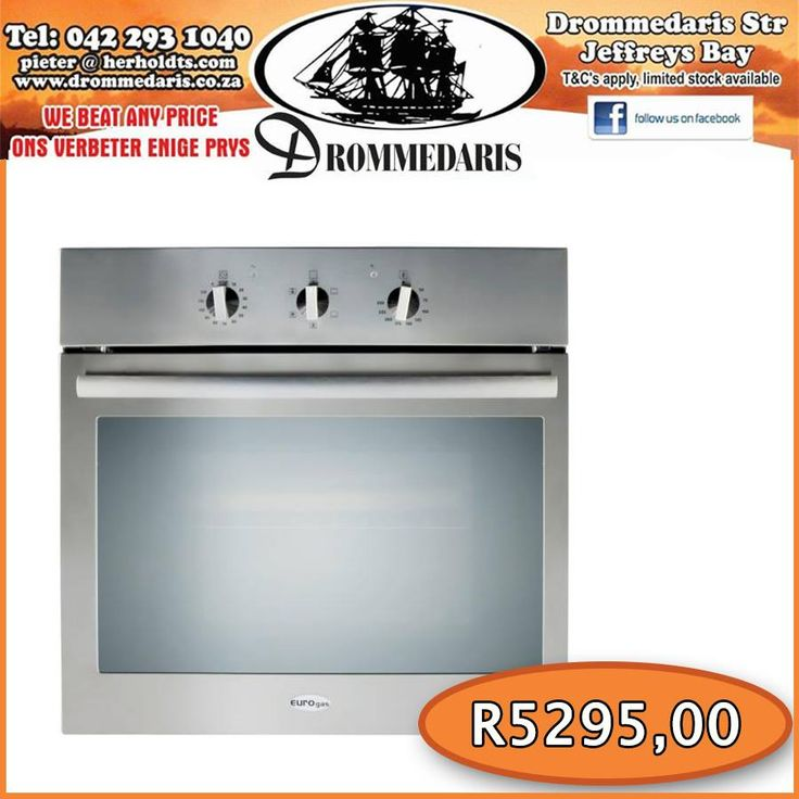 The Eurogas 60cm Built-in Oven is an A class multifunction oven. Its accurate insulation of the oven cavity and the use of special thermo-reflecting glasses insures both low energy consumption and shorter cooking times. Click here for more information, http://asite.link/s0. #appliances #lifestyle