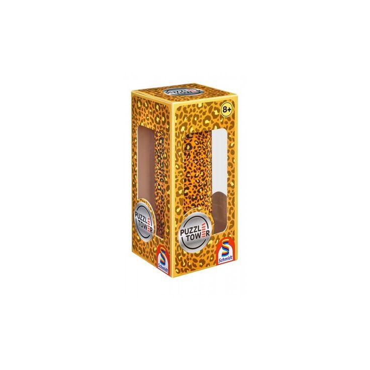 Kirakó torony- Állatmintás, Puzzle Tower Animals, logikai játék 8 éves kortól - Schmidt Spiele