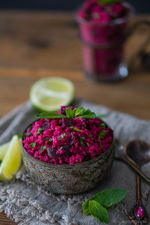 Rote-Bete-Couscous