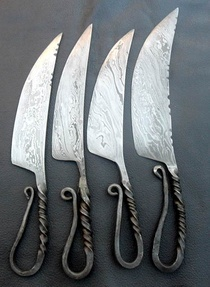 one piece knives