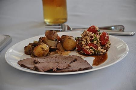 Barbeque a Moose Roast