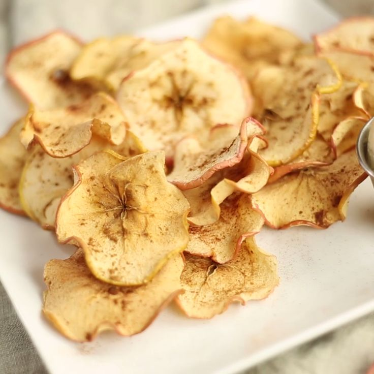 Raw apples and peanut butter have nothing on this extra crunchy apple snack.