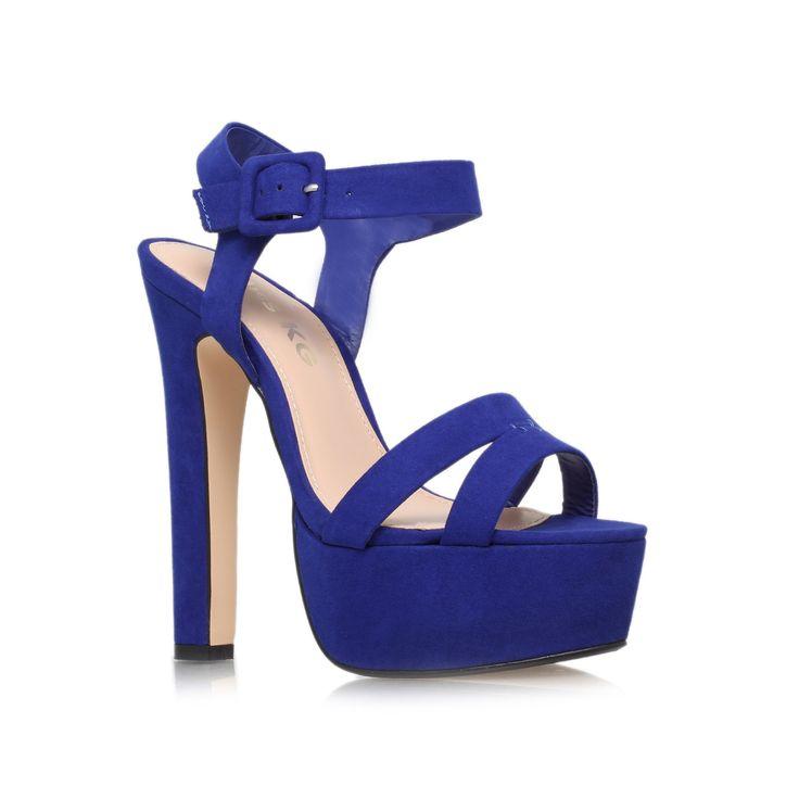 echo, blue shoe by miss kg - women