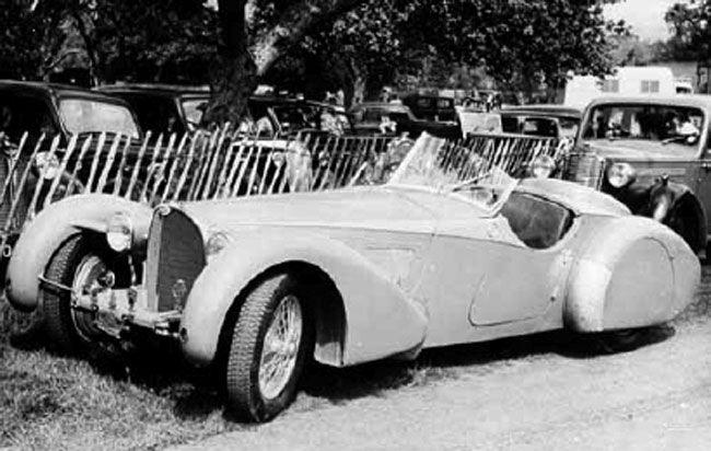 Bugatti type 57sc corsica roadster suzanne