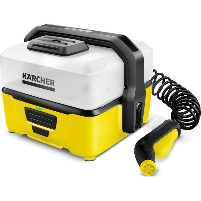 Karcher Nettoyeur Mobile Oc3 Basse Pression 5 Bar Debit 2 L Min En 2020 Nettoyeur Haute Pression Nettoyeur Et Basse Pression