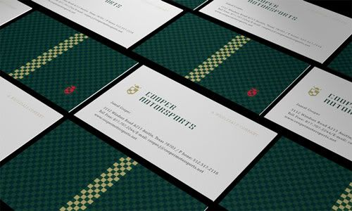 Business Card with Pattern Design 26