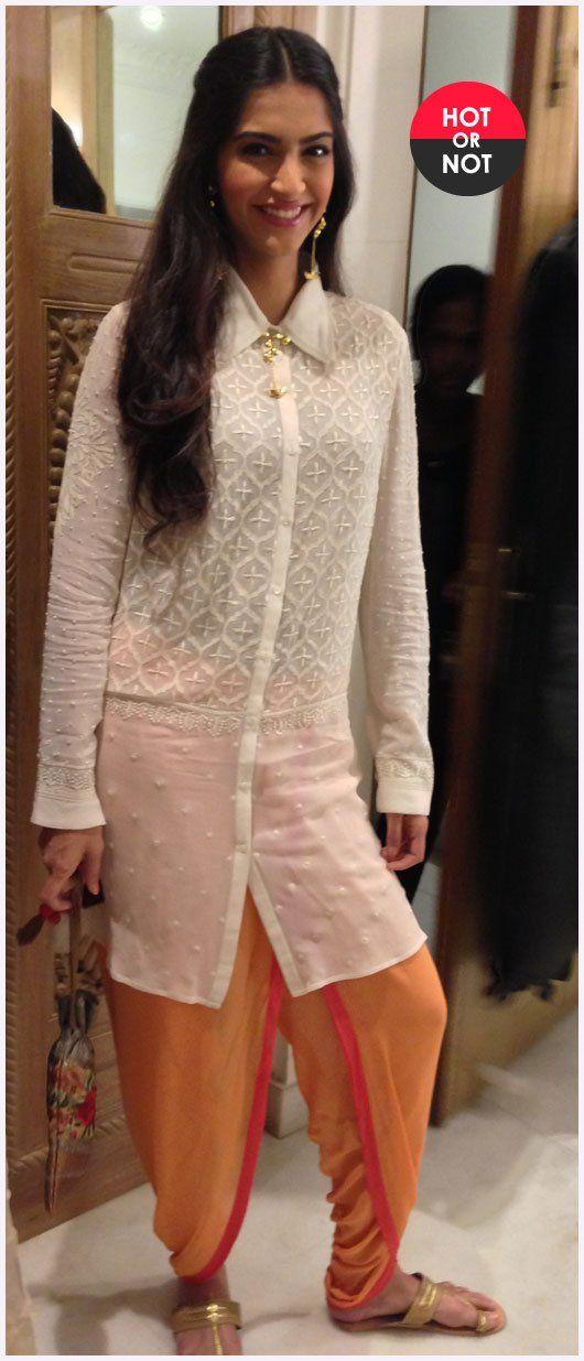 white kurta with dhoti shalwar
