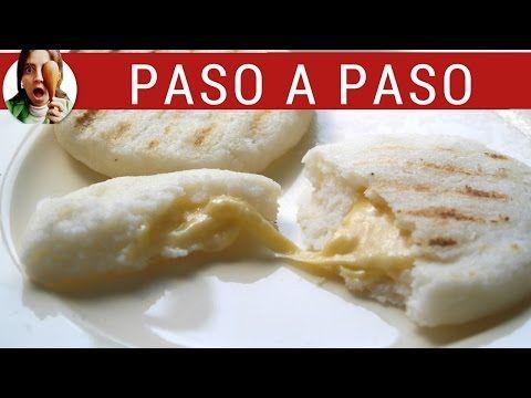 Receta de arepas colombianas: como hacer arepas de queso | Paulina Cocina