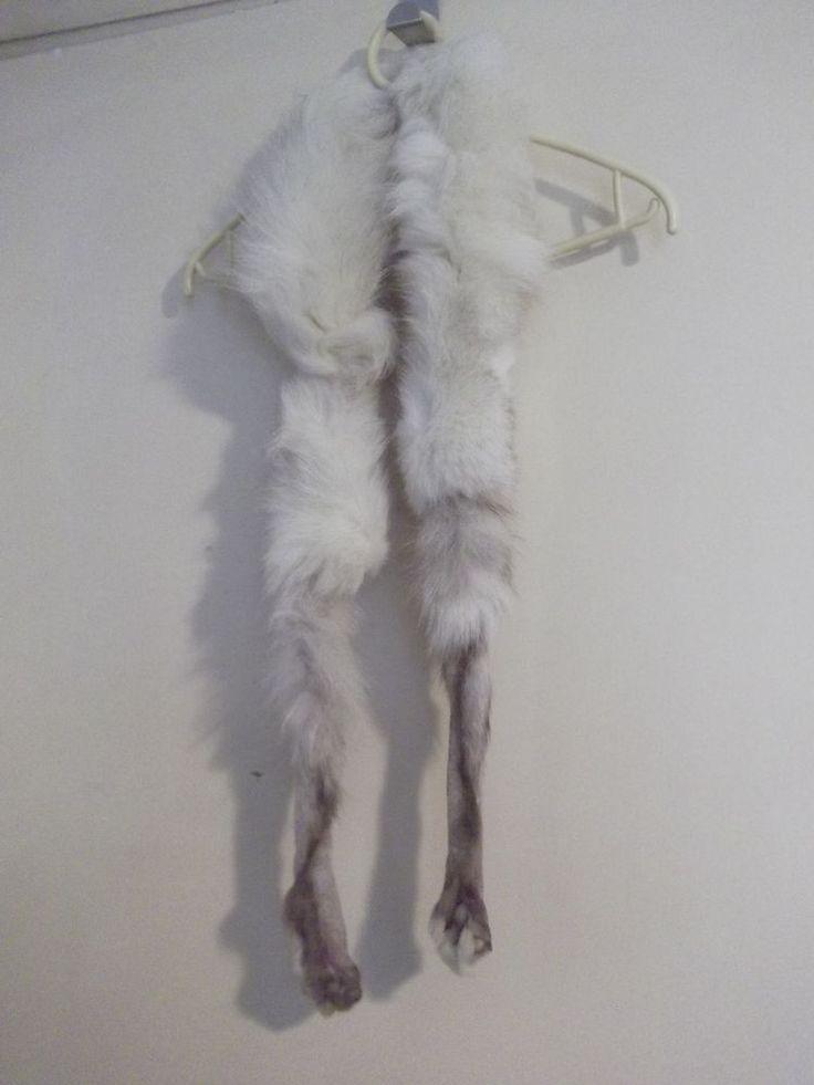 white fur for neck
