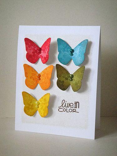 Butterflies | CAS card