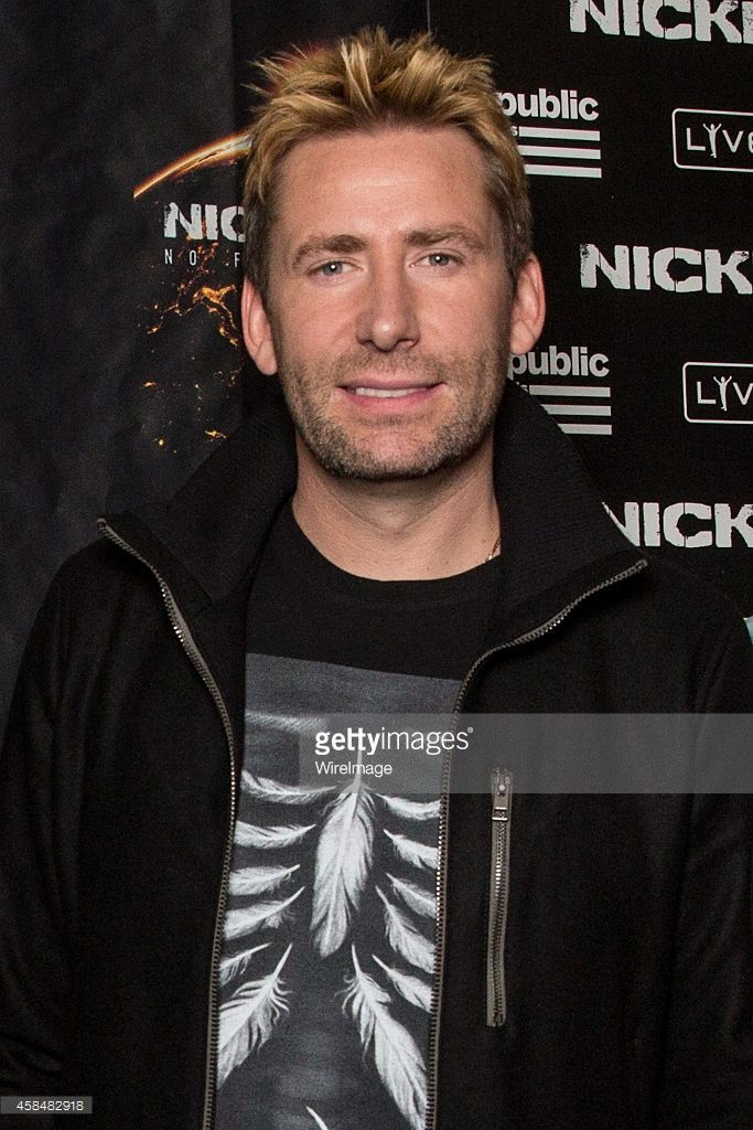 Musician Chad Kroeger of Nickelback poses backstage at House of Blues Sunset Strip on November 5...