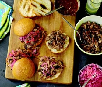 Carolina pulled pork recipe epicurious