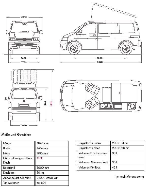 the 25 best vw transporter dimensions ideas on pinterest campervan interior volkswagen vw. Black Bedroom Furniture Sets. Home Design Ideas